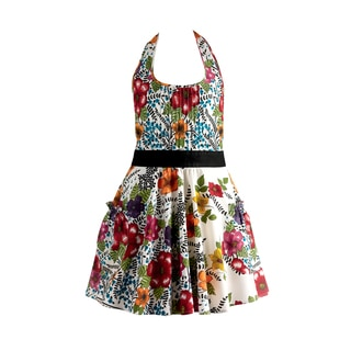 Design Imports India Flower Vintage Apron