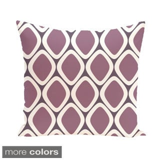 Geometric Abstract 26-inch Square Decorative Pillow