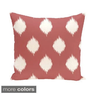 Abstract Geometric 26-inch Square Decorative Pillow