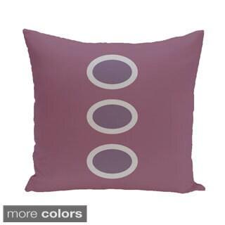 Three-dot Geometric 26-inch Square Decorative Pillow