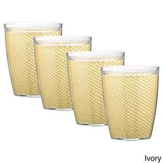 Link to Fishnet Double Wall Drinkware (Set of 4) Similar Items in Glasses & Barware