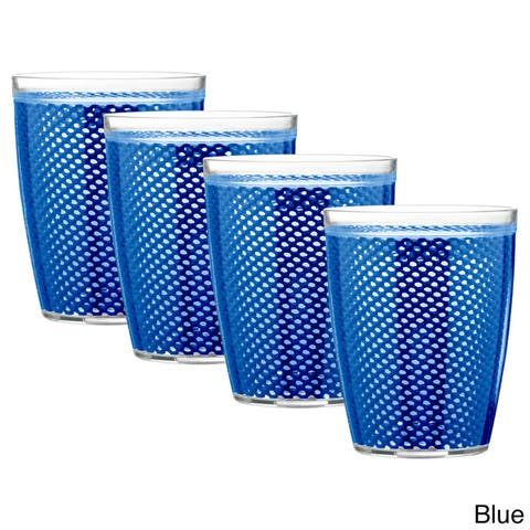 Fishnet Double Wall Drinkware (Set of 4)