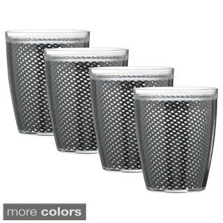 Fishnet Double Wall Drinkware (Set of 4)|https://ak1.ostkcdn.com/images/products/9813785/P16979419.jpg?impolicy=medium