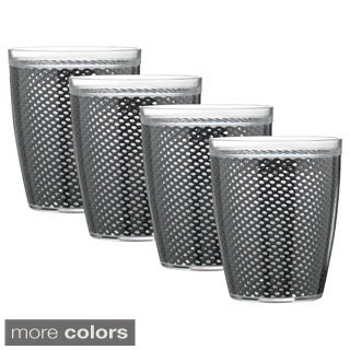 Fishnet Double Wall Drinkware (Set of 4) (More options available)