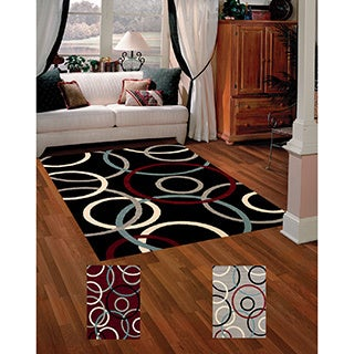 Beverly Circles Accent Rug (1'10 x 3
