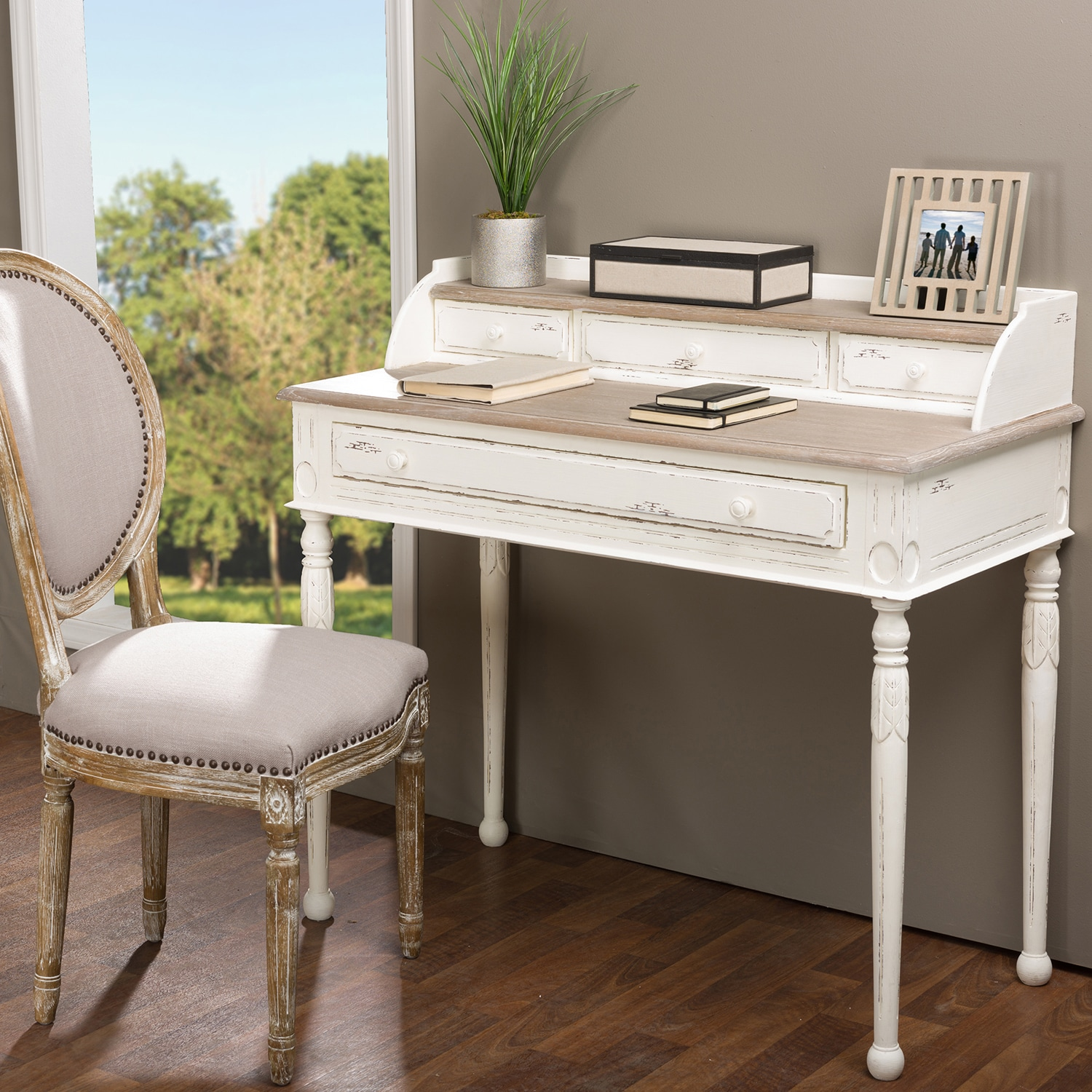 Anjou Traditional French Accent Writing Desk