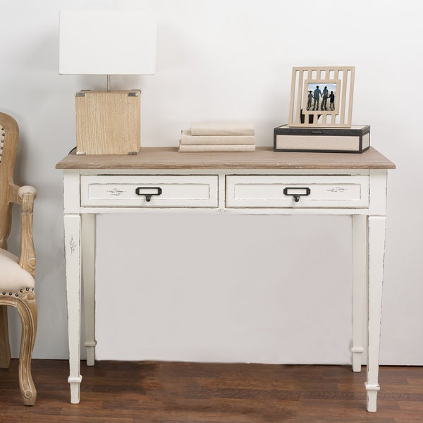 Dauphine Traditional French Accent Writing Desk Free