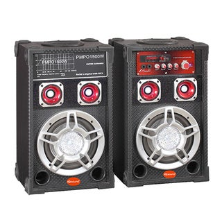 Supersonic 2.0 Speaker System - 40 W RMS - Portable - Battery Recharg