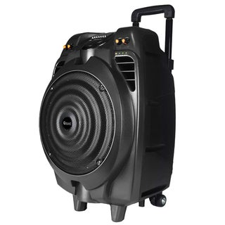 Supersonic Speaker System - 50 W RMS - Portable - Battery Rechargeabl