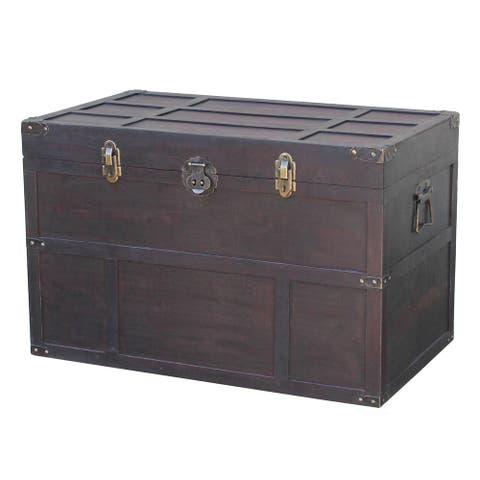 Old Cedar Style Large Chest