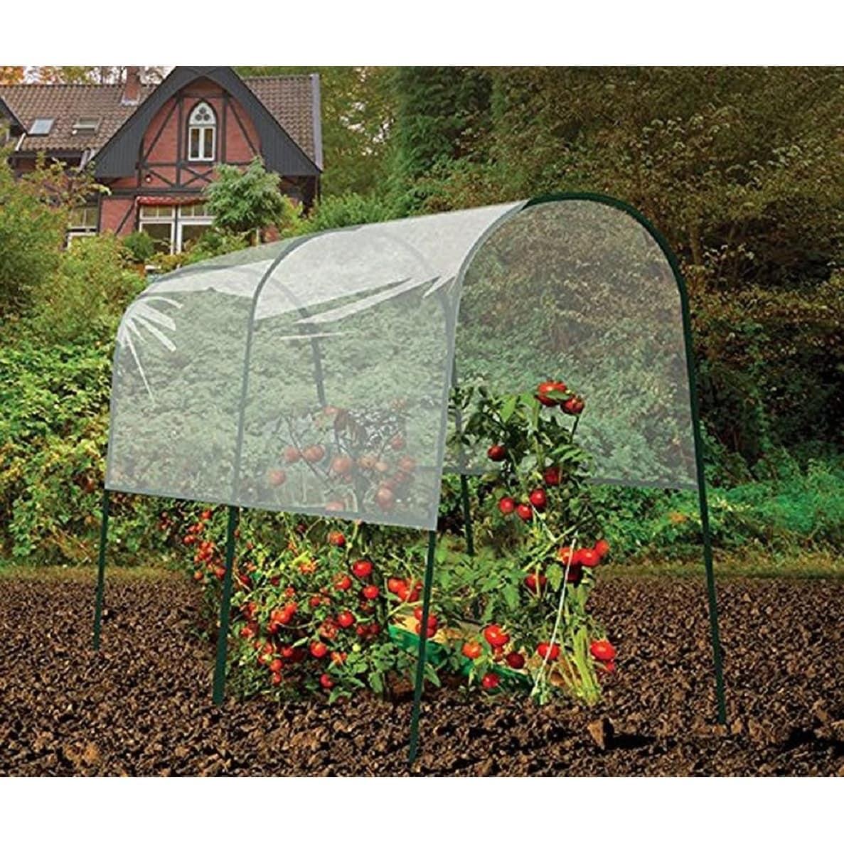 USA Gardman Tomato (Red) Greenhouse (Iron) #7623, Gardening
