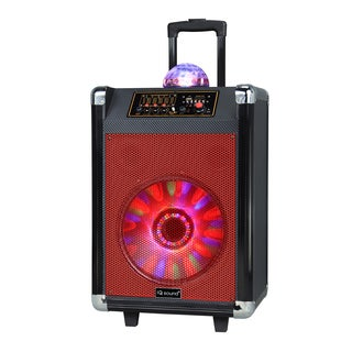 Supersonic Speaker System - 18 W RMS - Portable - Battery Rechargeabl