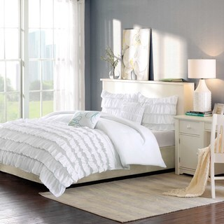 Intelligent Design Demi 3-piece Twin/ TwinXL Size Comforter Set in White (As Is Item)