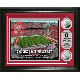 Ohio State University 8-time National Champions Silver Coin Photo Mint