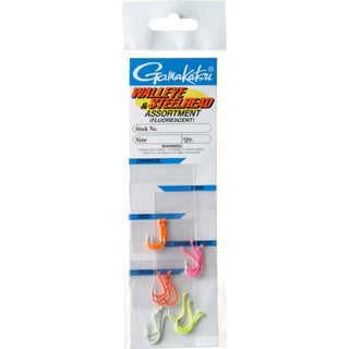 Gamakatsu Fluorescent Walleye and Steelhead Hook Assortment