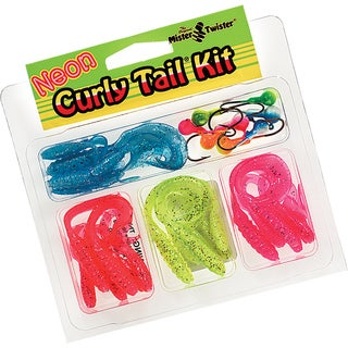 Mister Twister Curly Tail Neon Kit