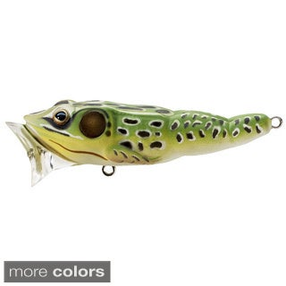Koppers Live Target Frog Popper 3-inch (Option: Yellow)
