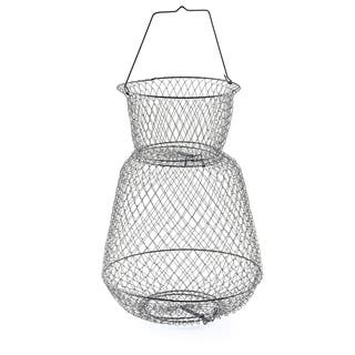 South Bend Round Wire Fish Basket 15-inch x 21-inch|https://ak1.ostkcdn.com/images/products/9814645/P16980171.jpg?impolicy=medium