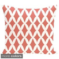 Geometric Lattice 18-inch Decorative Pillow