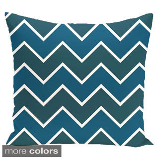 Chevron Geometric 18-inch Decorative Pillow