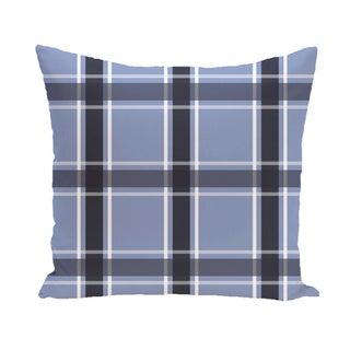 Plaid Geometric 18-inch Decorative Pillow