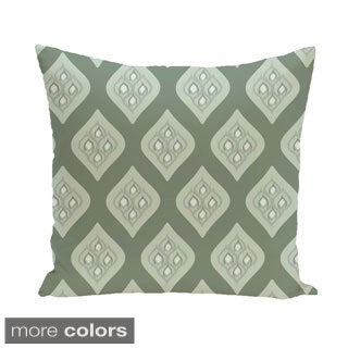 Abstract Lattice Geometric 18-inch Decorative Pillow