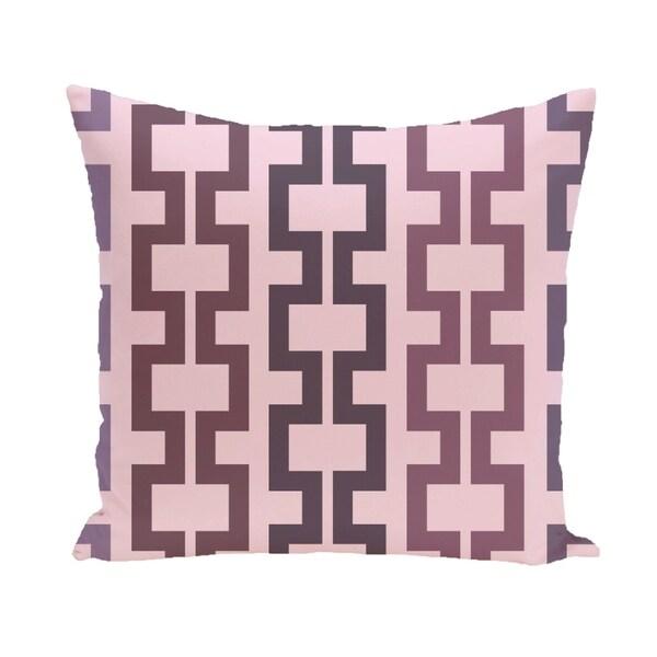 Geometric Tribal 20-inch Decorative Pillow
