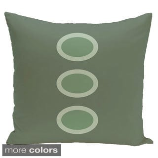 Three Dot Geometric 20-inch Decorative Pillow