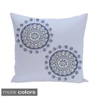 Abstract Spiral Geometric 20-inch Decorative Pillow