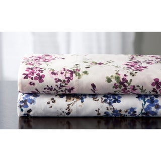 Brighton 350 Thread Count Cotton Rich Sateen Print Sheet Set
