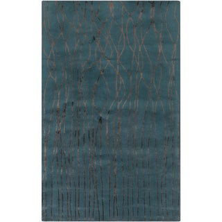 Hand-Tufted Colleen Abstract New Zealand Wool Rug (2' x 3')