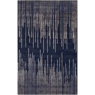 Hand-Tufted Camilla Geometric New Zealand Wool Rug (2' x 3')