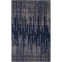 Hand-Tufted Camilla Geometric New Zealand Wool Area Rug (2' x 3')