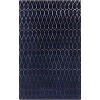 Hand-Tufted Cadence Geometric New Zealand Wool Area Rug - 2' x 3'