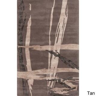 Hand-Tufted Bridget Abstract New Zealand Wool Rug (2' x 3')