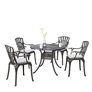 Largo 5-piece Dining Set with Cushions by Home Styles