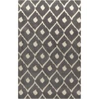 Hand-Tufted Wayland Geometric Wool Area Rug - 5' x 8'