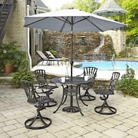 Largo 5-piece Dining Set with Umbrella by Home Styles