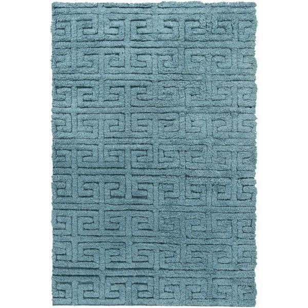 Hand Woven Matthew Solid Pattern Wool Area Rug Overstock 9814911
