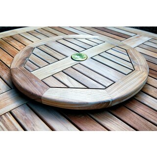 Tortuga Outdoor Teak Lazy Susan