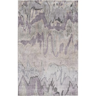 Hand-Tufted Gabriel Banana Silk Indoor Rug (2' x 3')