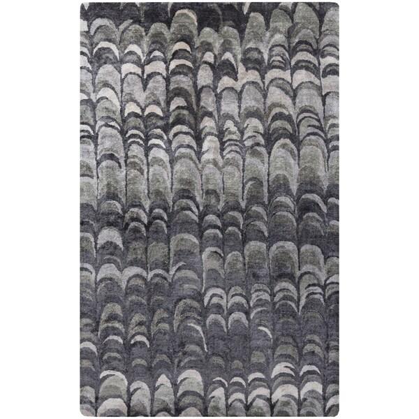 Hand-Tufted Jasmin Banana Silk Indoor Rug (8' x 11')