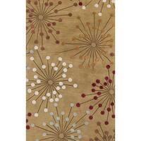 Hand-Tufted Breanna Dots New Zealand Wool Area Rug (8' x 11')