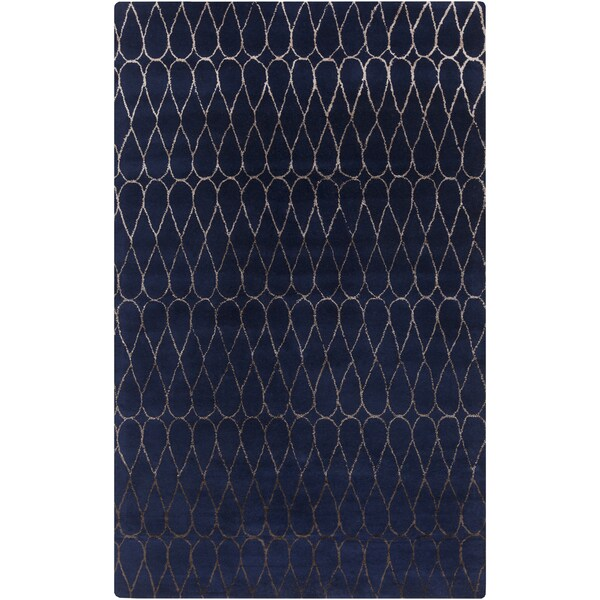 Hand-Tufted Cadence Geometric New Zealand Wool Area Rug