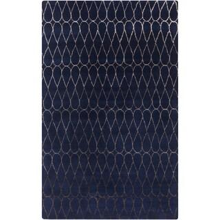 Hand-Tufted Cadence Geometric New Zealand Wool Rug (5' x 8')