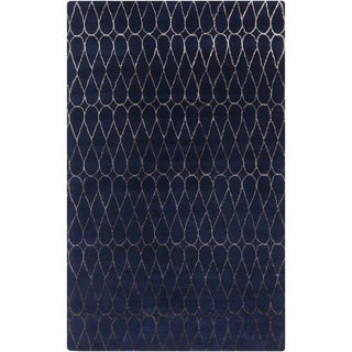 Hand-Tufted Cadence Geometric New Zealand Wool Area Rug
