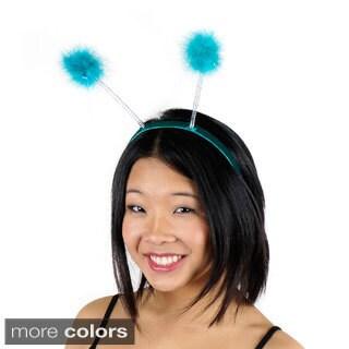 Marabou Antenna Lurex/ Opalescent Headband