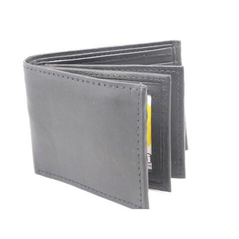 Men's Classic Bi-fold Genuine Leather Wallet