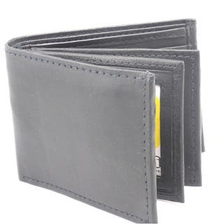 Men's Classic Bi-fold Genuine Leather Wallet|https://ak1.ostkcdn.com/images/products/9815106/P16980789.jpg?impolicy=medium