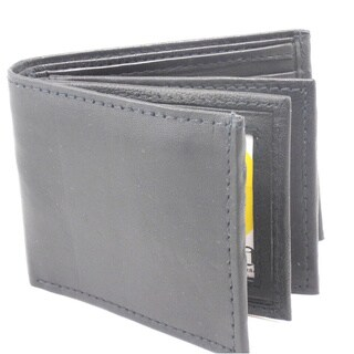 Men's Classic Bi-fold Genuine Leather Wallet